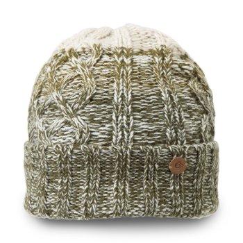 Unisex Dolan Knit Hat - Dark Moss Combo