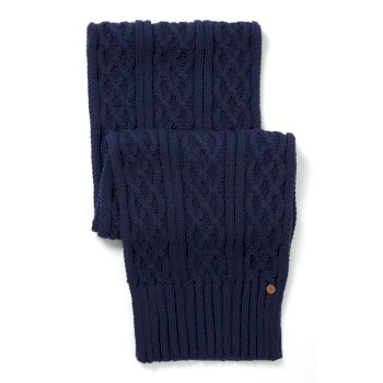 Unisex Dolan Knit Scarf - Night Blue