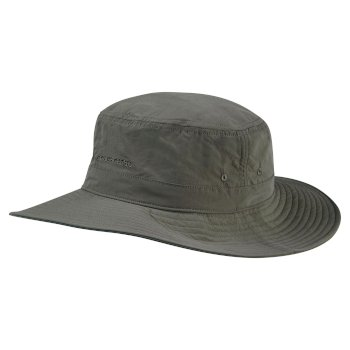 Unisex Insect Shield® Sun Hat - Dark Khaki