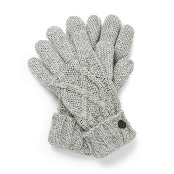 Unisex Dolan Gloves - Soft Grey Marl
