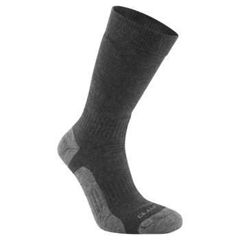 Trek Sock - Black Pepper