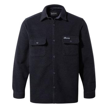 Leroy Long Sleeved Shirt - Blue Navy