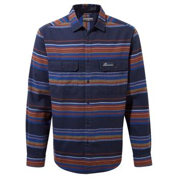 Ziggy Long Sleeved Shirt - Blue Navy Stripe