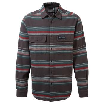Ziggy Long Sleeved Shirt - Coast Grey Stripe