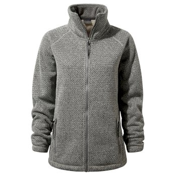 Women's Nairn Fleece Jacket - Charcoal