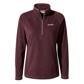Miska V Half-Zip Fleece - Winterberry