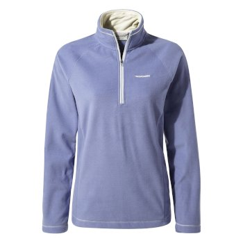 Miska V Half-Zip Fleece - China Blue