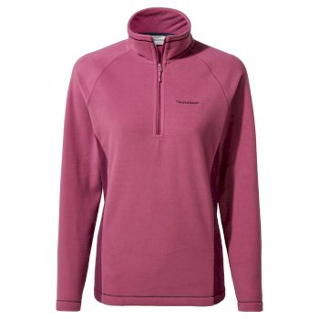 Women's Miska VI Half Zip - Baton Rouge / Blackcurrant