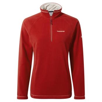 Women's Miska VI Half Zip Fleece - Pompeian Red