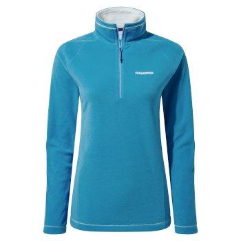 Women's Miska VI Half Zip Fleece - Mediterranean Blue