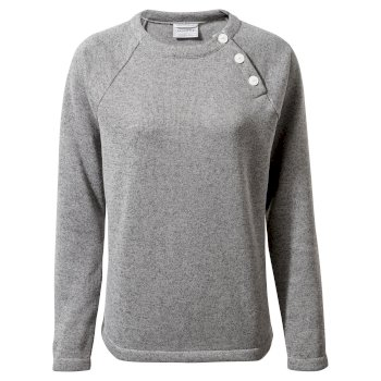 Women's Neela Crew Neck - Soft Grey Marl
