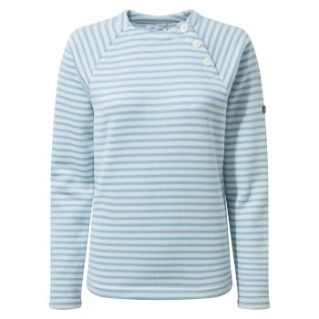 Women's Neela Crew Neck - Harbour Blue Stripe