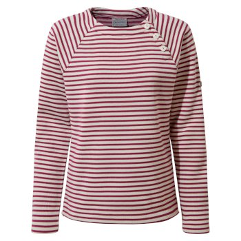 Women's Neela Crew Neck - Baton Rouge Stripe