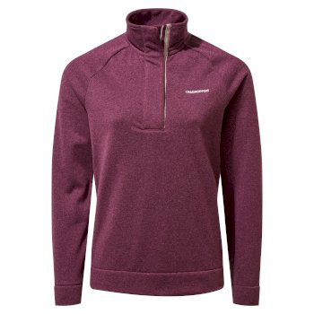 Women's Helena Half Zip - Blackcurrant Marl