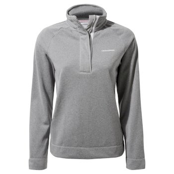 Women's Helena Half Zip - Cloud Grey Marl