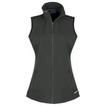 Womens Expert Essential Interactive Softshell Vest - Green