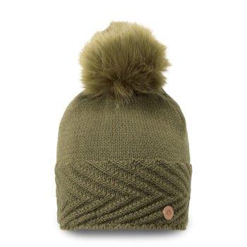 Maria Knit Hat - Dark Moss