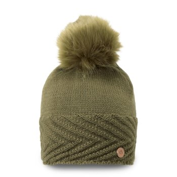 MarInteractive Knit Hat Dark Moss