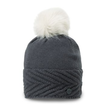 Maria Knit Hat - Charcoal Marl