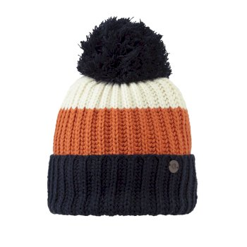 Womens Heather Hat - Blue Navy Stripe