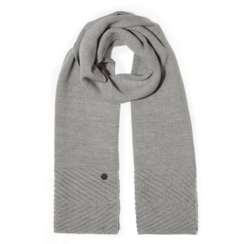 Maria Strickschal Soft Grey Marl