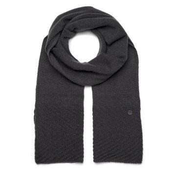 Maria Knit Scarf - Charcoal