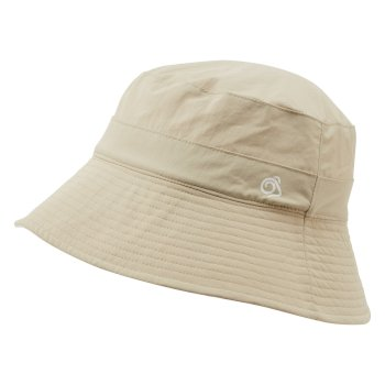 Women's Insect Shield® Sun Hat - Desert Sand / Corsage Pink Print