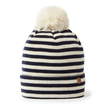 Balmoral Hat - Blue Navy Stripe