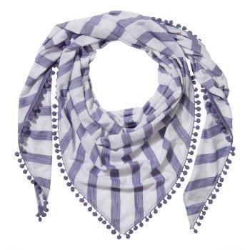 Nosilife Florie Scarf - Paradise Blue Stripe