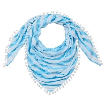 Nosilife Florie Scarf - Mediterranean Blue Stripe