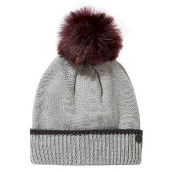 Women's Faith Hat - Soft Grey Marl