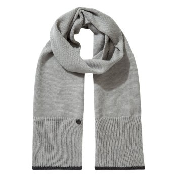 Women's Faith Scarf - Soft Grey Marl