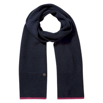 Women's Faith Scarf - Blue Navy