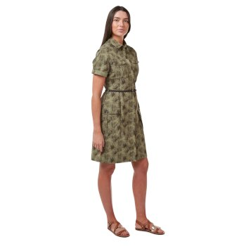 NosiLife Savannah Dress - Mid Khaki Print