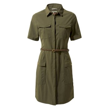 Women's Insect Shield® Savannah Dress - Mid Khaki