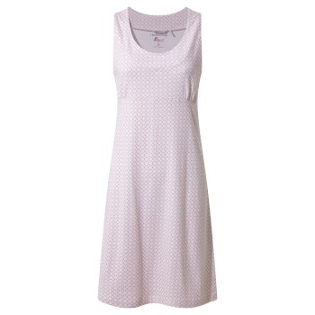 Women's Insect Shield® Sienna Dress - Rosette Print