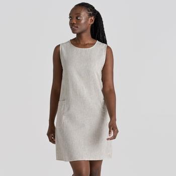 NosiBotanical Marin Dress - Blue Navy Stripe