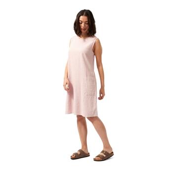NosiBotanical Marin Dress - Brushed Lilac Check