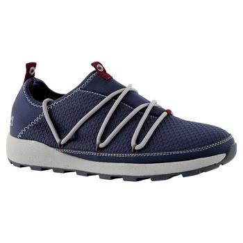 Lady Locke Packaway Shoe - Blue navy