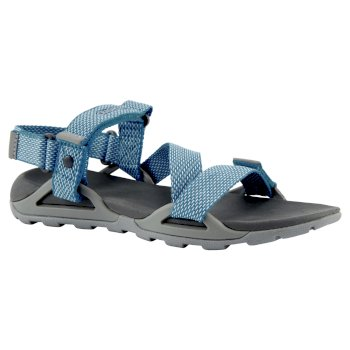 Lady Locke Sandal - Cloud Grey / Harbour Blue