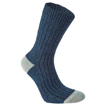 Nevis Walking Sock - Blue Navy Marl