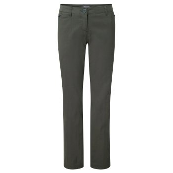Women's Kiwi Pro Stretch Pants  - Mid Khaki