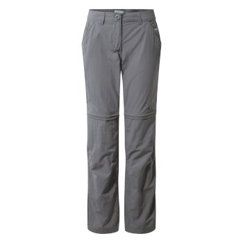 Insect Shield Convertible Pants - Platinum