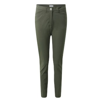 Women's Adventure Pants - Mid Khaki