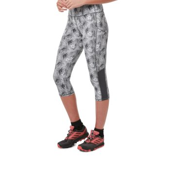 NosiLife Luna Cropped Tight - Cloud Grey Print