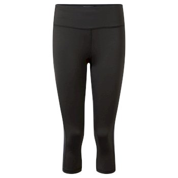 Women's Insect Shield® Luna Cropped Tight - Charcoal