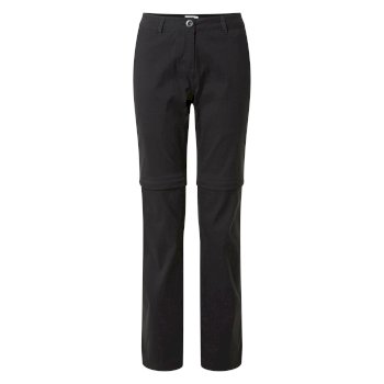 Women's Kiwi Pro Convertible Pants - Black