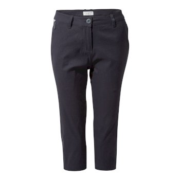 Women's Kiwi Pro II Crop - Dark Navy