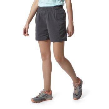 Kiwi Pro Active Shorts Charcoal