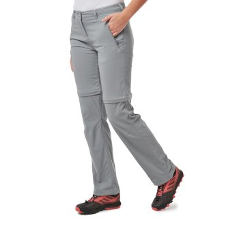 NosiLife Pro II Convertible Trousers - Cloud Grey